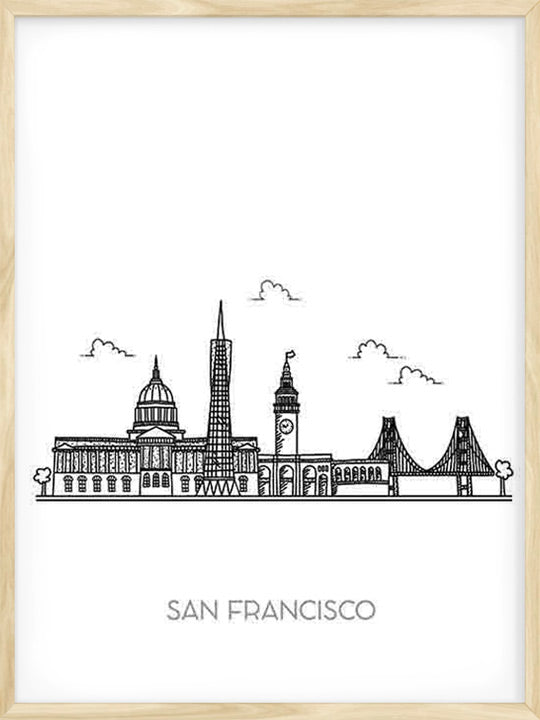 San Francisco City - Poster