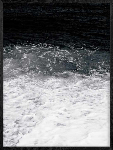 Sea-B&W-photo-Nature-Poster-with-Frame