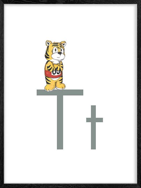 T is for Tiger - Poster