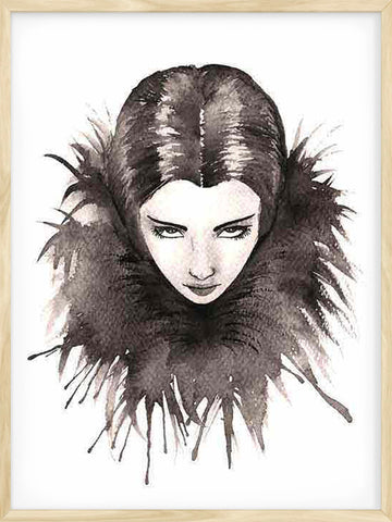 That-Look-Watercolour-girl-art-print-modern-design