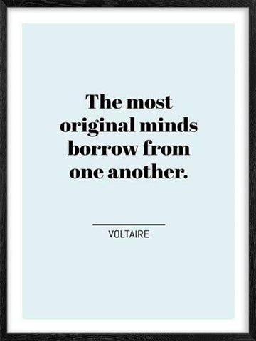 The-most-original-minds-Voltaire's-Quote-art-print-wall-decor