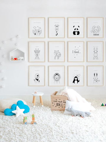 Happy-Deer-Minimalist-Drawing-Art-Print-with-Nordic-Style-for-Kids-and-Baby-Room-by-Posterwol