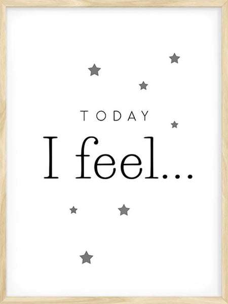 Today I Feel... - Poster