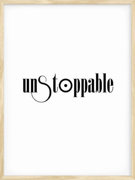 Unstoppable - Poster