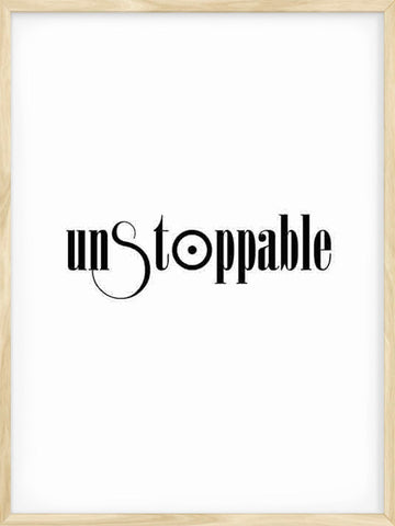 Unstoppable-Typography-minimalist-print-decor