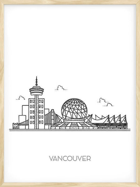 Vancouver City - Poster
