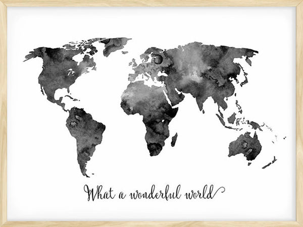 What A Wonderful World - Poster