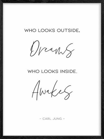 Who-Looks-Outside-Carl-Jung-quote-typography-poster-in-black-and-white