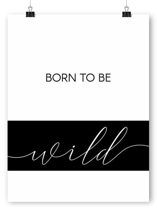 Born to Be Wild - Poster