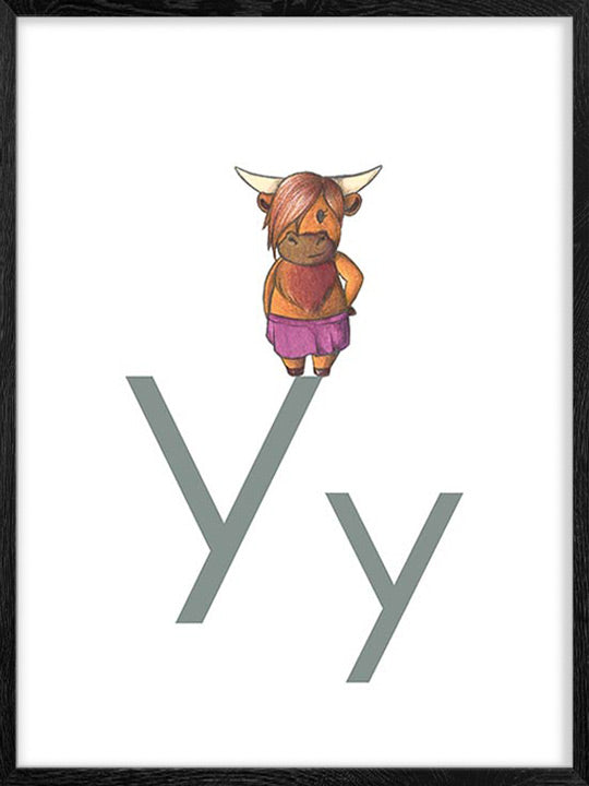 Y is for Yak - Poster