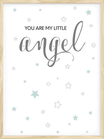 You're-my-Little-Angel-cute-nursery-art-print