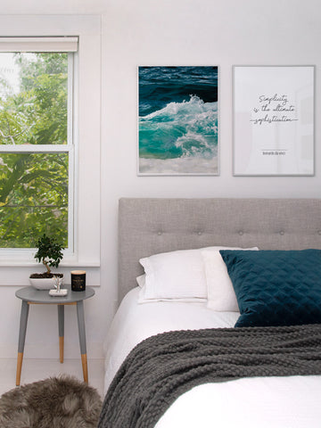 Ocean-Waves-Photography-poster-with-frame