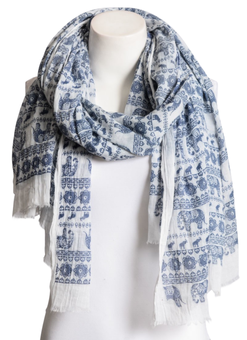 Easy Breezy Blue Sky Scarf