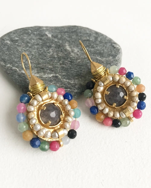 So Spring! Handcrafted earrings