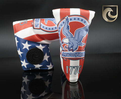 American Putter Company Industrial 1776 Patriotic Eagle Headcover!
