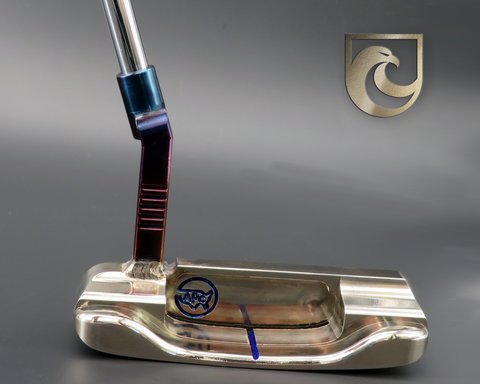American Putter Company Oak Dale Right Hand Putter Atomic Bronze with Weld Neck (COA 337)