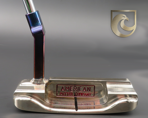 American Putter Company Oak Dale Right Hand Putter Atomic Bronze with Weld Neck