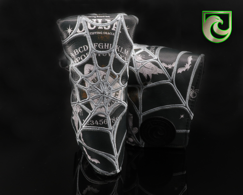 "American Putter Company Halloween ""OUIJA"" Blade Putter Headcover!"