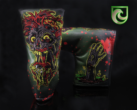 "American Putter Company Halloween ""Zombie"" Blade Putter Headcover!"