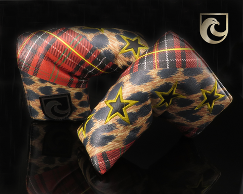 American Putter Company Inked & Embroidered: Stars, Antrim Tartan & Leopard! Major 4