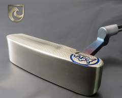 American Putter Company Oak Dale Right Hand Stainless Putter with Weld Neck (COA 344)