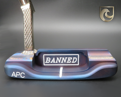 American Putter Company Oak Dale Right Hand Putter: Carbon including Stainless Weld Neck