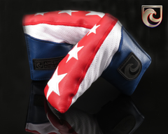 American Putter Company American Triple Stars Putter Headcover! RED / WHITE / BLUE