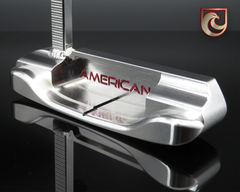American Putter Company Oak Dale in Super Stainless Finish with Weld Neck