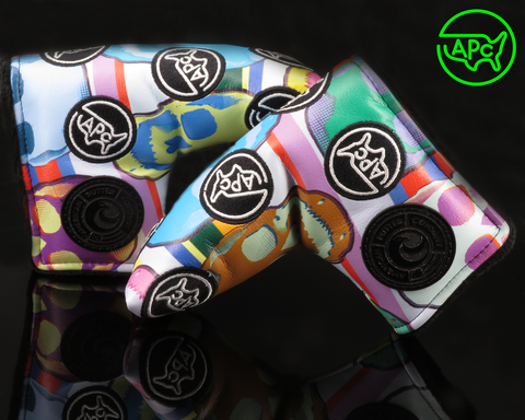 American Putter Company Limited Release APC Patch & Large Sugar Skulls Golf Headcover!