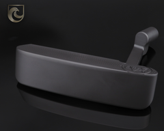 American Putter Company Carbon Oak Dale in Super Black Finish with Weld Neck