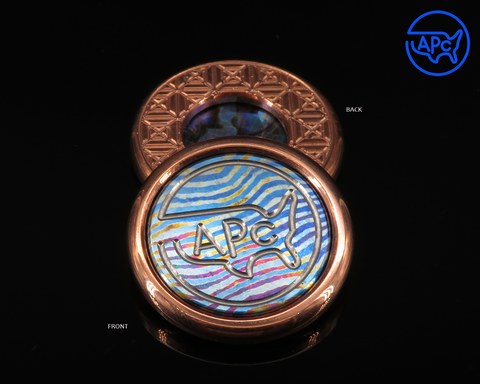 2020 APC Copper Round: Complete with Timascus and Blue Paua