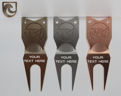 American Putter Company Custom Divot Tool 1.0 Atomic Bronze, Stainless or Copper