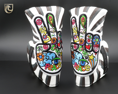 "American Putter Company ""The Deuces"" Putter Headcover!  Peace!"