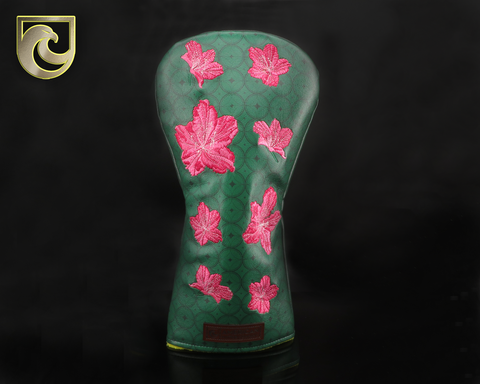 American Putter Company Major 1: Inked & Embroidered Azaleas DRIVER Wood Headcover