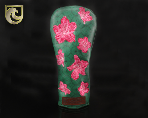 American Putter Company Major 1: Inked & Embroidered Azaleas FAIRWAY Wood Headcover