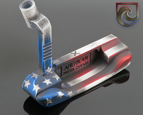 (GOLD) CUSTOM APC Oak Dale AMERICAN STARS & STRIPES Finish: Carbon or Stainless (Right or Left Hand)
