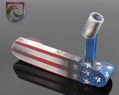 (GOLD) CUSTOM APC Oak Dale Stars and Stripes Finish: Carbon or Stainless (Right or Left Hand)