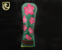 American Putter Company Major 1: Inked & Embroidered Azaleas HYBRID Wood Headcover