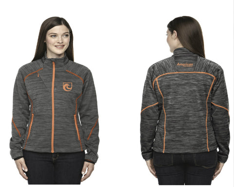 American Putter Company Ladies Full Zip Training Top