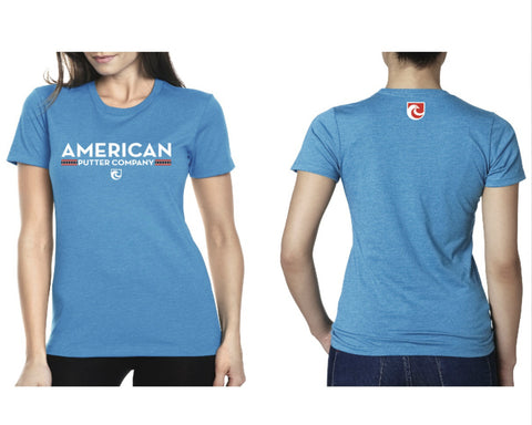 American Putter Company Ladies Active Wear T-Shirt!