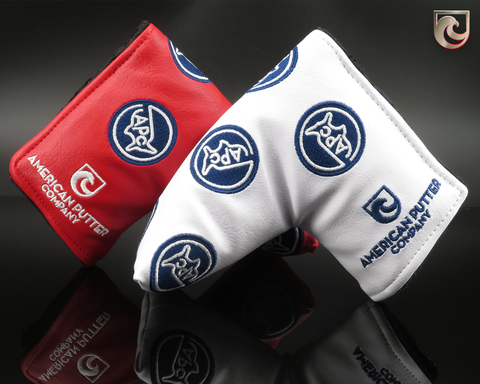 American Putter Company, America Patch Headcover: Pick Red or White