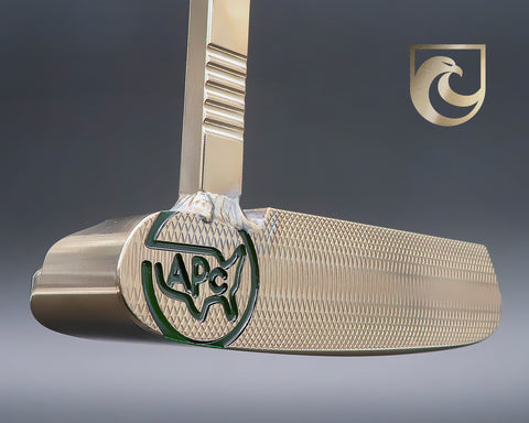 American Putter Company Oak Dale Left Hand Putter Atomic Bronze with Weld Neck
