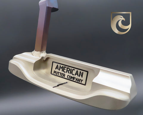American Putter Company Oak Dale Right Hand Putter with Weld Neck