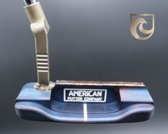 American Putter Company Oak Dale Right Hand Diamond Blue Carbon Putter with Weld Neck