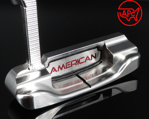 American Putter Company Stainless Oak Dale in Super Stainless Finish with Weld Neck