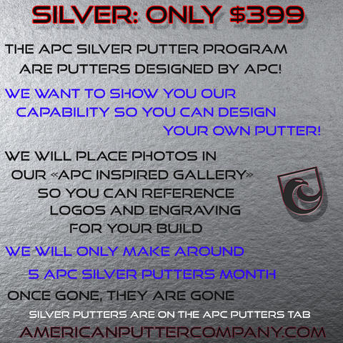 APC SILVER PUTTERS