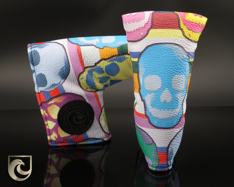 American Putter Company Large Sugar Skulls Golf Headcover!