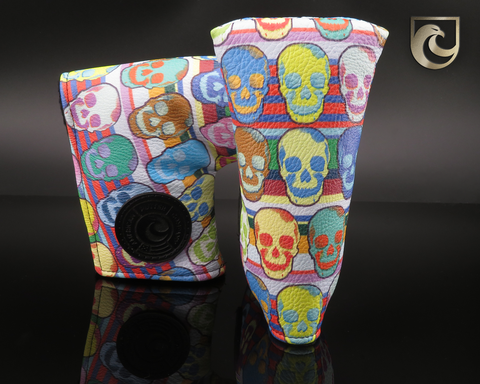 American Putter Company Small Sugar Skulls Golf Headcover!