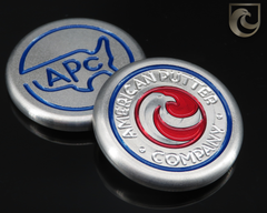 (CUSTOM PAINT COLORS) American Putter Company Eagle / APC Ball Marker Stainless Steel : Hand Painted