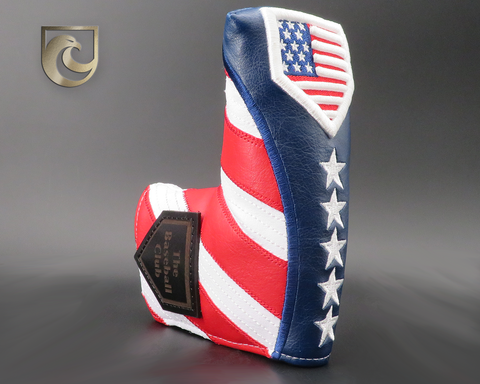 American Putter Company & The Baseball Club Stars & USA 3D Homeplate Baseball Stitch Headcover